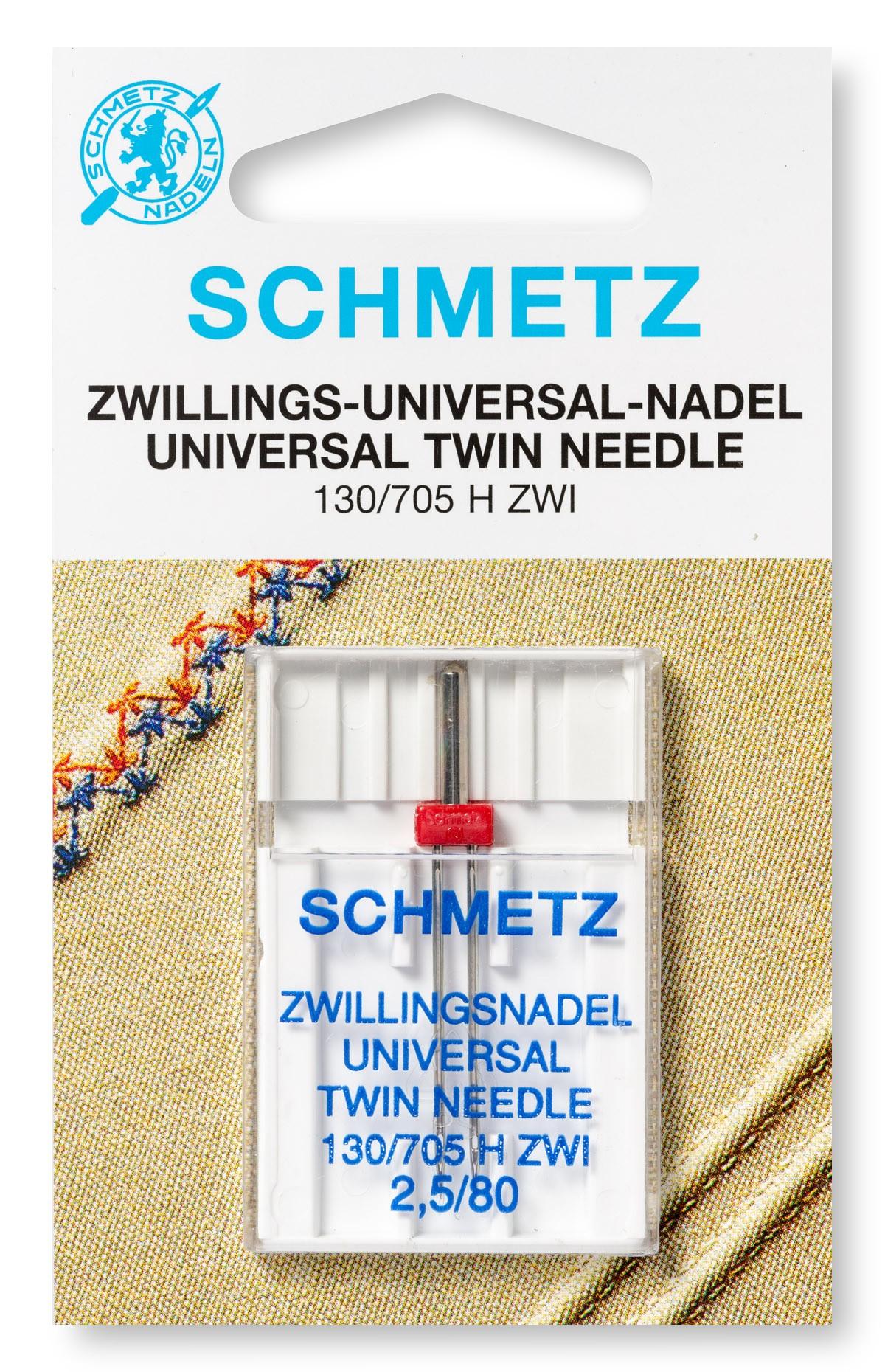 Zwillingsnadel 130//705 h entre ne 1,6//80 Schmetz